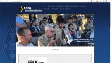 ARRL North Texas new website